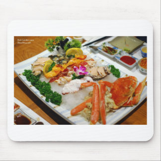 Sea Cucumber, King Crab Etc Sushi Gifts & Cards Mouse Pad