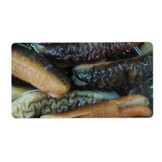 Sea Cucumber ... Yaowarat Market Food Label