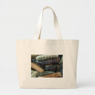 Sea Cucumber ... Yaowarat Market Food Large Tote Bag