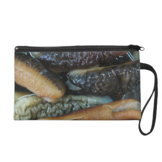 Sea Cucumber ... Yaowarat Market Food Wristlet Purse