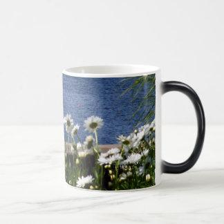 """Sea Daisies"" Morphing Mug"