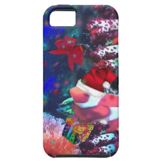 Sea depth in Christmas season iPhone SE/5/5s Case