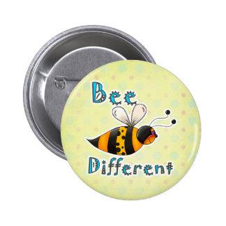 Sea diferente manchado manosean la abeja pin