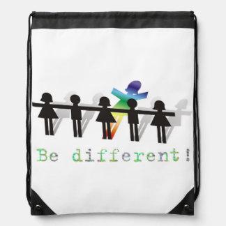 ¡Sea diferente! Mochila