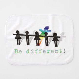 ¡Sea diferente! Paños Para Bebé