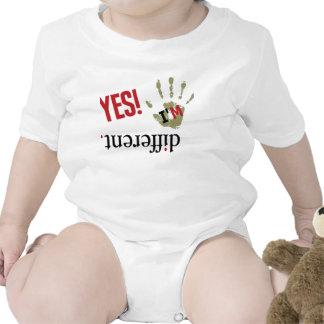 Sea diferente traje de bebé