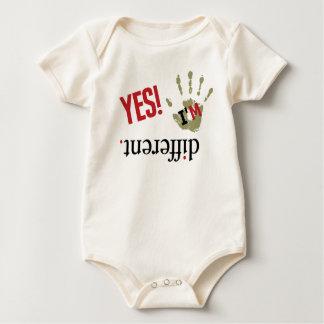 Sea diferente trajes de bebé