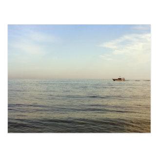Sea distance postcard