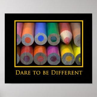 """""""Sea diversa"""" impresión del poster de la foto"""