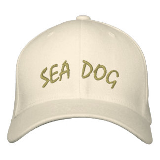 Sea Dog Hat Embroidered Hats