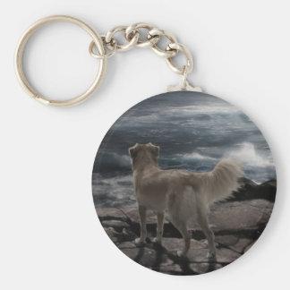 Sea Dog Keychain