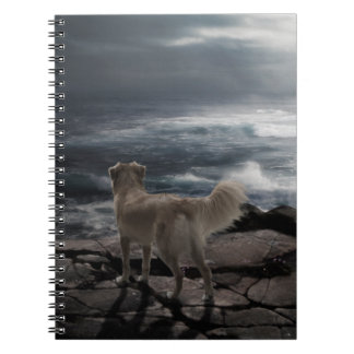 Sea Dog Spiral Notebook