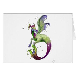 Sea Dragon by April Robbins Card