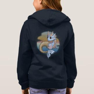 Sea Dragon Girl's Zip Up Hoodie