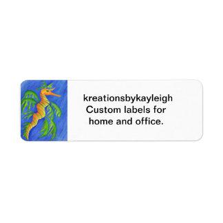 Sea Dragon Label