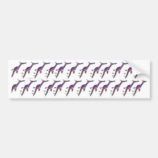 Sea Dragon Pattern Bumper Sticker
