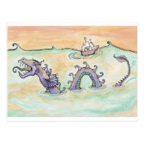 Sea Dragon Postcard