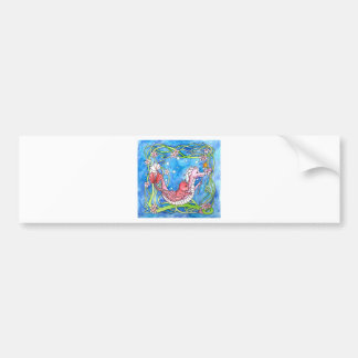 Sea Dragon Quest Car Bumper Sticker