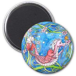 Sea Dragon Quest 2 Inch Round Magnet