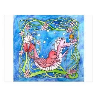 Sea Dragon Quest Postcard