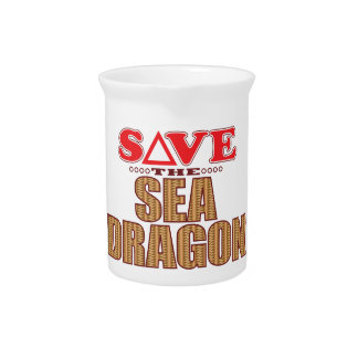 Sea Dragon Save Drink Pitcher