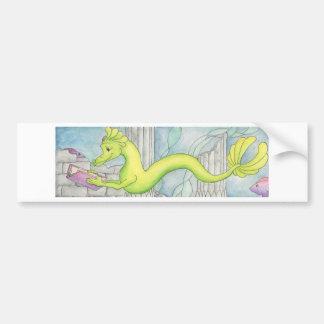 Sea Dragon Treasure Car Bumper Sticker