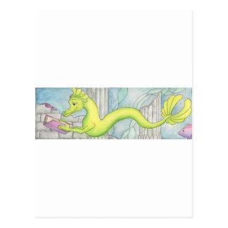 Sea Dragon Treasure Postcard