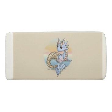 Beach Themed Sea Dragon Wedge Eraser