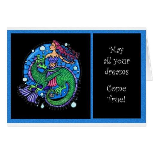 Sea Dreams Greeting Card