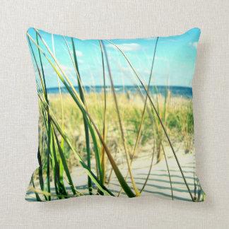 Sea Dune Grass Beach Pillow