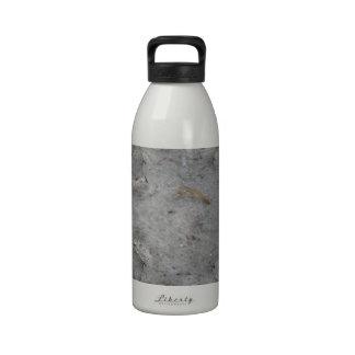Sea Dunes Trail Fractal Drinking Bottle