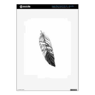 Sea Eagle Feather Tattoo iPad 3 Skin