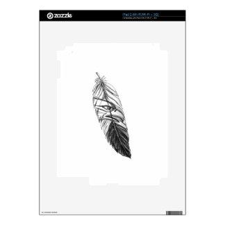 Sea Eagle Feather Tattoo Skin For The iPad 2