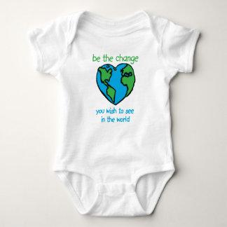 Sea el cambio body para bebé