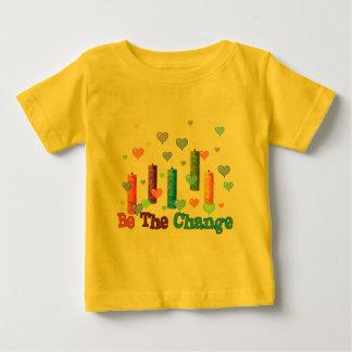 Sea el cambio del mundo playeras