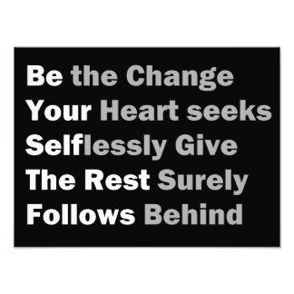Sea el cambio… cojinete