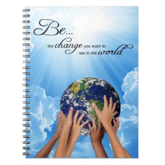 Sea el cambio - Gandhi Note Book