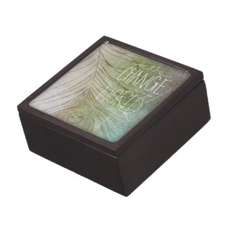 Sea el cambio que usted desea ver cajas de joyas de calidad