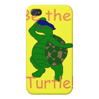 Sea el caso del iPhone de la tortuga iPhone 4 Cárcasas