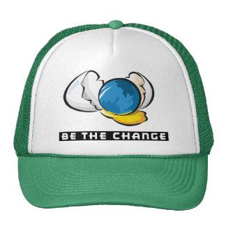 Sea el Día de la Tierra del cambio Gorras