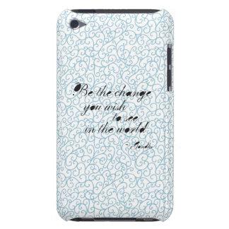 Sea el extracto azul del cambio iPod touch Case-Mate cobertura