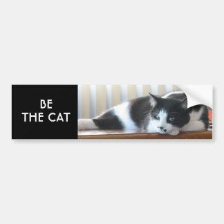 Sea el gato pegatina para auto