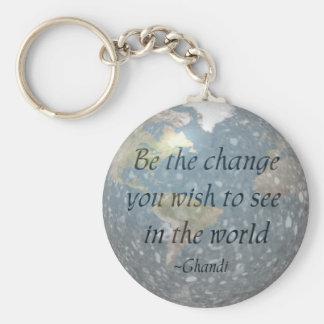 Sea el llavero del cambio…