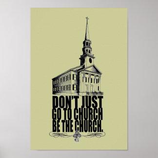 SEA el poster de la iglesia