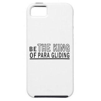 Sea el rey Of Para Gliding iPhone 5 Case-Mate Protectores