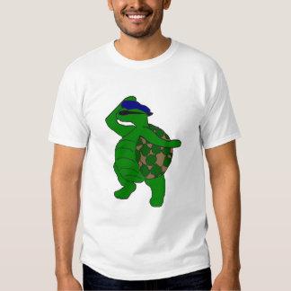 Sea el tamaño extra grande de la tortuga remeras