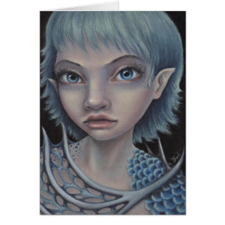 Sea Elf Greeting Card