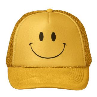 Sea emoji sonriente feliz gorro de camionero