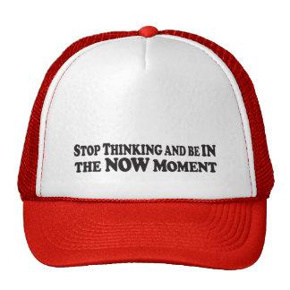 Sea en el momento - gorra de los camioneros