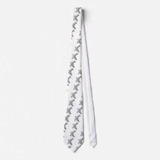 Sea fan neck tie